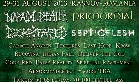 Grecii de la Septicflesh canta la Rockstadt Extreme Fest pe 31 august