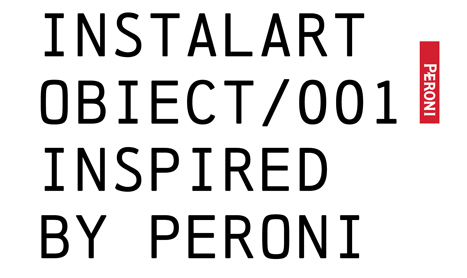 Invitatie expozitie: Instalart Obiect/001 Inspired by Peroni