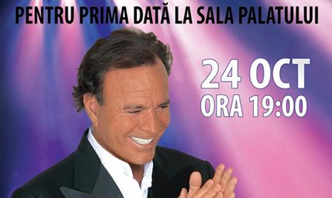 Biletele pentru concertul lui Julio Iglesias se vand cu rapiditate