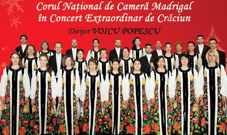 Medeea Marinescu deschide concertul Madrigal de Craciun