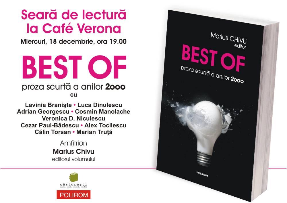 """""""Best of: proza scurta a anilor 2000"""" a aparut la Polirom"""