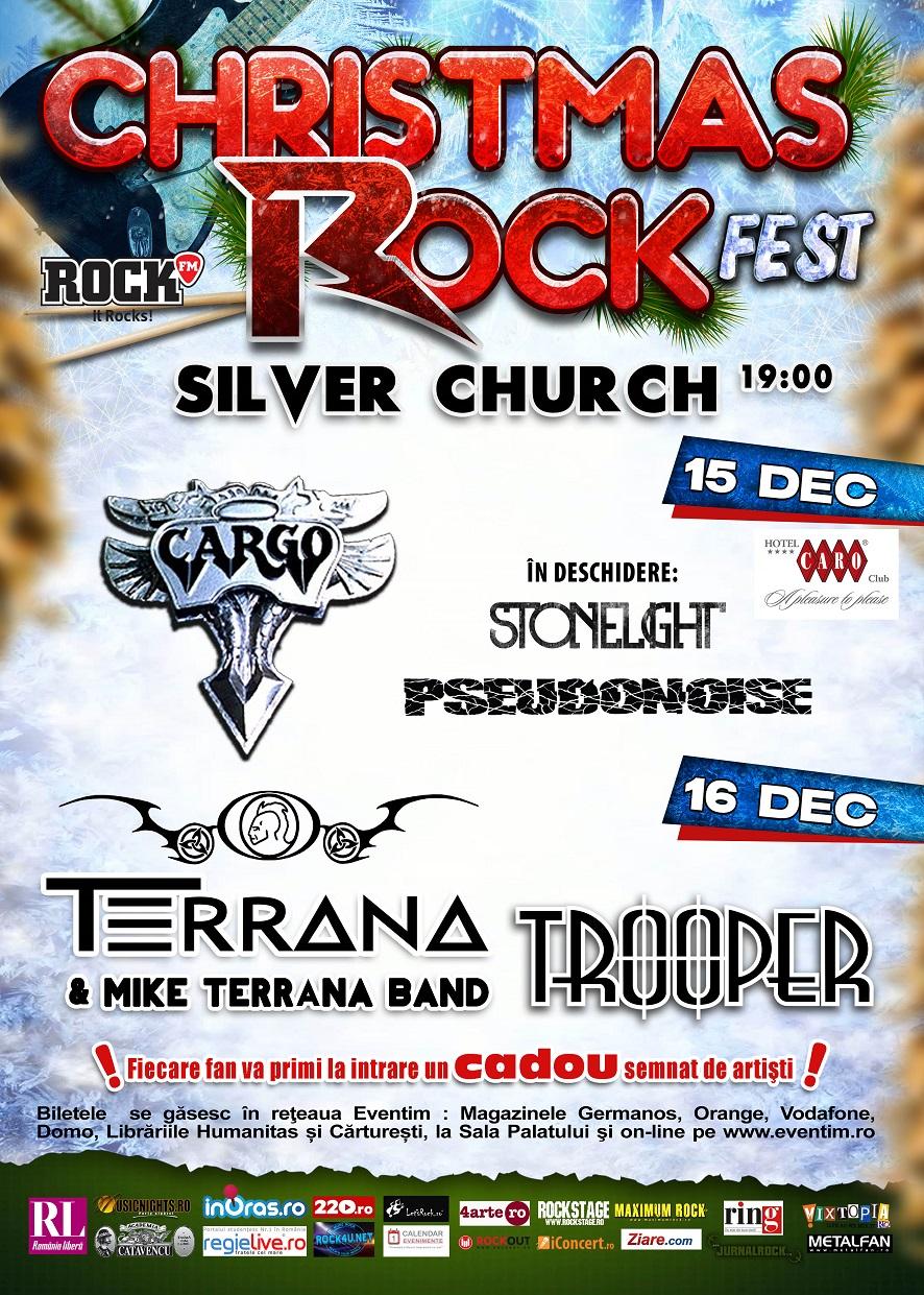 Program si reguli de acces pentru Christmas Rock Fest