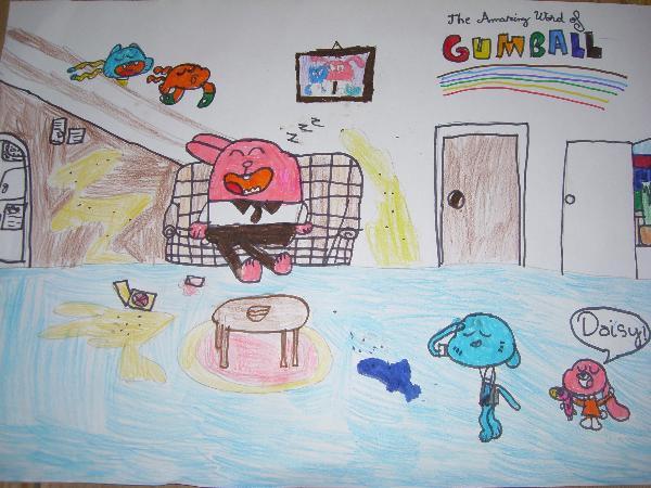 Creeaza un personaj pentru lumea lui Gumball!