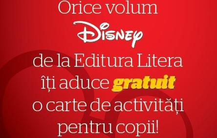 Cumperi o carte Disney, primesti o carte cadou