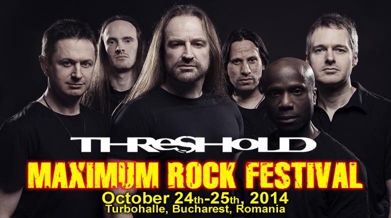 Threshold este a doua trupa invitata la Maximum Rock Festival