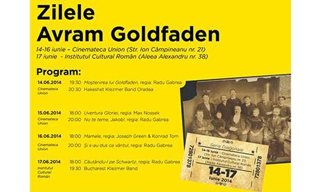 14-17 iunie: Zilele Avram Goldfaden