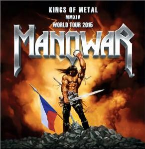 "MANOWAR concerteaza si in Cehia in cadrul turneului ""Kings Of Metal MMXIV"""