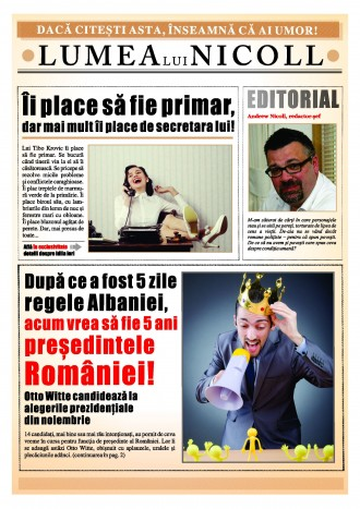Campanie pentru Andrew Nicoll la Editura ALLFA