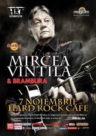 MIRCEA VINTILA o aduce pe MUSETTE la Hard Rock Cafe
