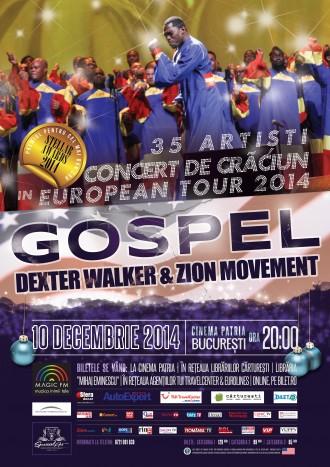 Cel mai bun cor de gospel vine de sarbatori in Bucuresti