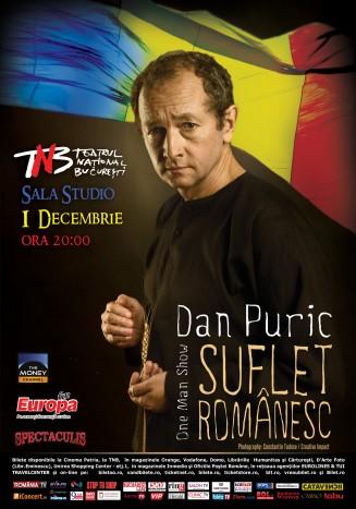 "Portret de ""Suflet romanesc"" cu Dan Puric de 1 Decembrie"