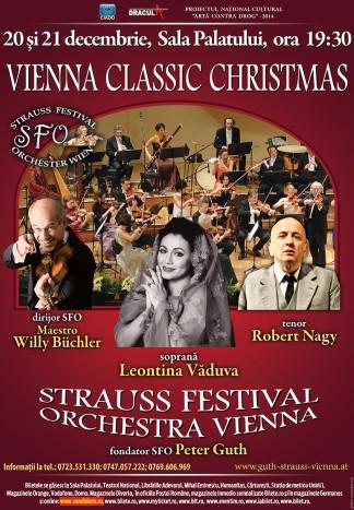 Strauss Festival Orchestra Vienna incepe turneul in Romania