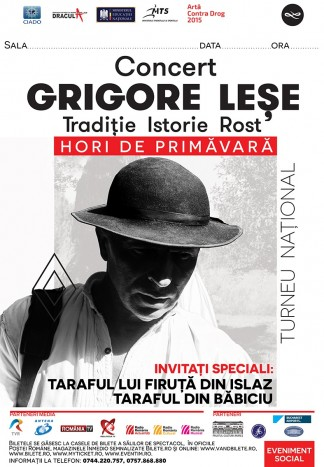 """Grigore Lese, in primul turneu national: """"Hori de primavara"""""""