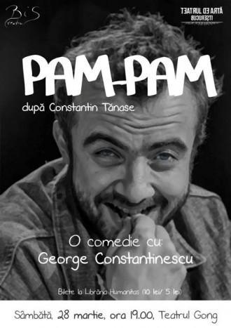 Maraton de teatru la Sibiu: George Constantinescu 25 de ore non-stop de show PAM-PAM