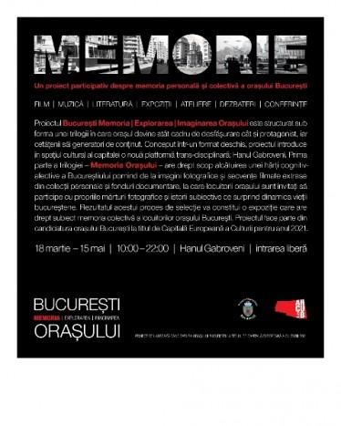 Prima saptamana a proiectului BUCURESTI MEMORIA EXPLORAREA IMAGINAREA ORASULUI