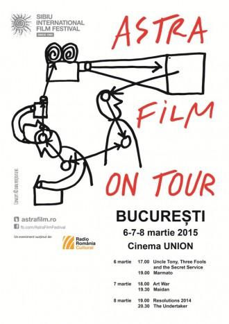 Premiantele Astra Film Sibiu 2014 ajung in Bucuresti si Cluj