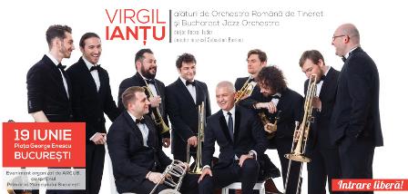 Virgil Iantu pregateste un concert simfonic grandios in Piata George Enescu
