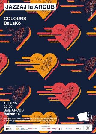 Ritmuri balcanice si jazz intr-un concert live inedit: COLOURS