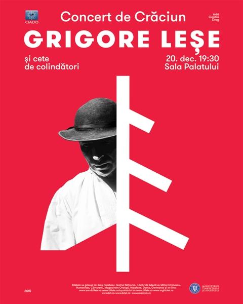 Grigore Lese – Concert de Craciun