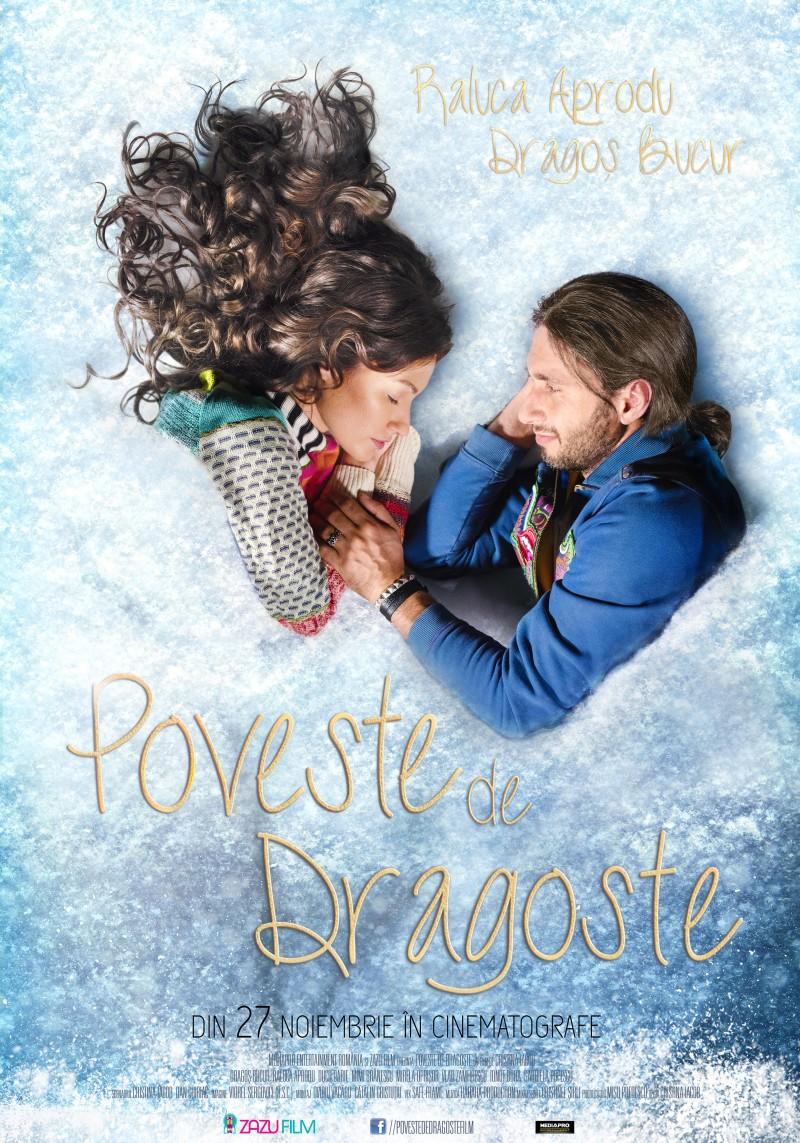 Un love story cu Dragos Bucur si Raluca Aprodu din 27 noiembrie, pe marile ecrane