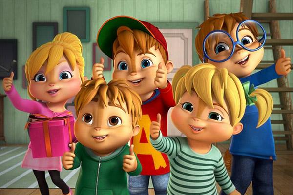 """Serial nou pentru copii: """"ALVINNN!!! si veveritele"""""""