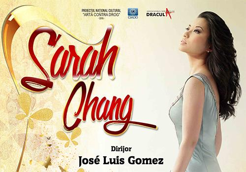Violonista Sarah Chang concerteaza in Cluj si Bucuresti