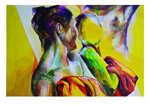"""Expozitie de pictura Larisa Melnic: """"Oglindiri"""""""