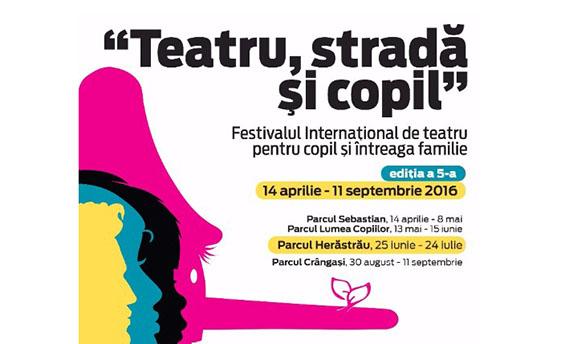 """Incepe a doua parte a festivalului """"Teatru, Strada si Copil"""""""