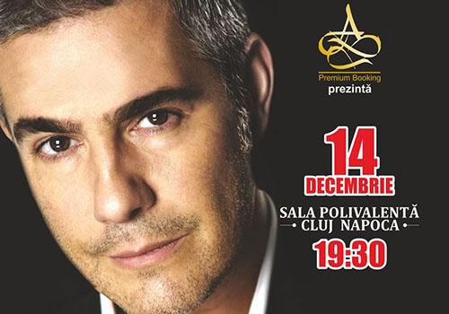 Tenorul Alessandro Safina canta in decembrie la Cluj-Napoca