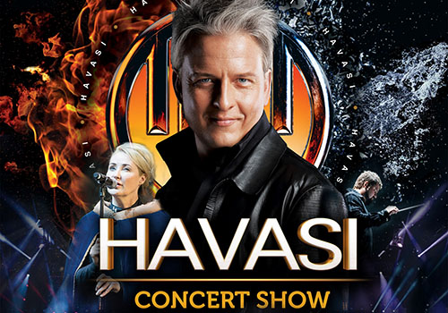Turneul Havasi trece prin Romania pe 22 noiembrie