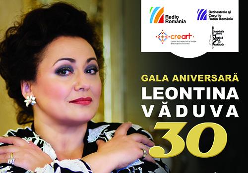 Leontina Vaduva sarbatoreste 30 de ani de cariera internationala