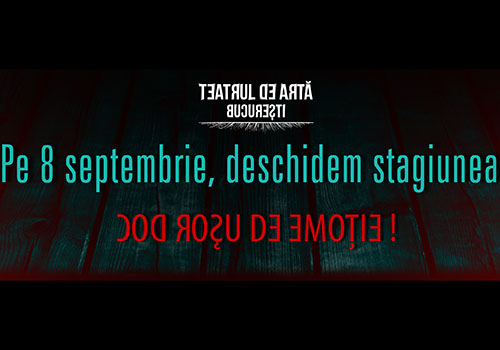 Teatrul de Arta Bucuresti deschide stagiunea pe 8 septembrie