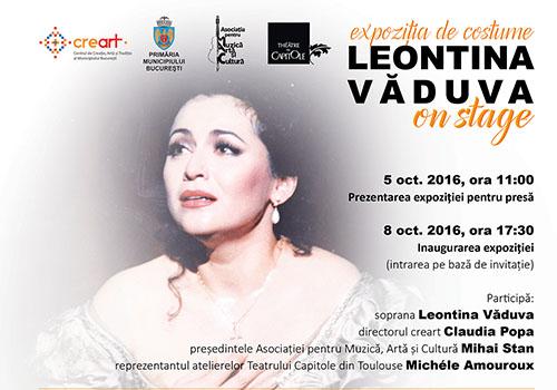 Galeria creart expune costumele de scena ale sopranei Leontina Vaduva