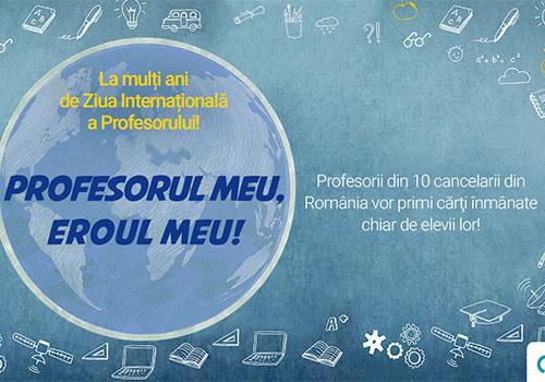 Litera sarbatoreste Ziua Internationala a Profesorului