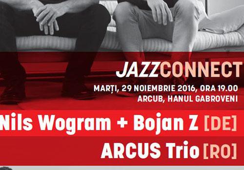 Jazz la Arcub: NILS WOGRAM & BOJAN Z