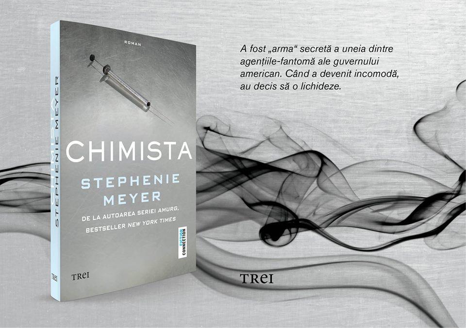 """Editura Trei a lansat """"Chimista"""""""