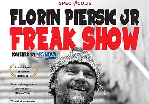 "Florin Piersic Jr. aduce ""Freak Show"" la Teatrul National"