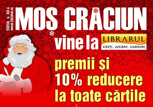 Mos Craciun vine la Librarul… incepand de maine!