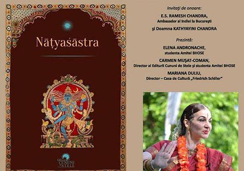 """Comemorare Amita Bhose: """"NATYASASTRA – CARTEA ARTELOR"""""""