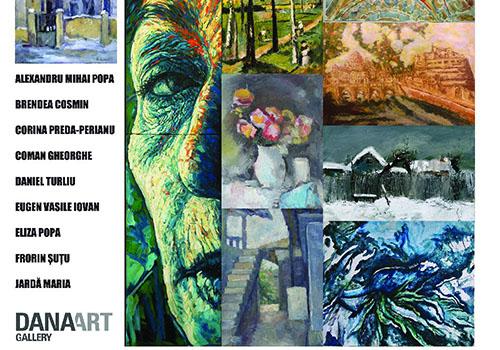 """Expozitie de pictura si grafica: """"Intalniri subiective"""""""