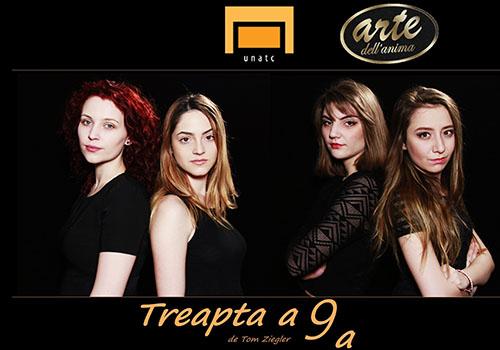 """""""Treapta a noua"""" se joaca pe 8 martie la Teatrul Arte dell'Anima"""