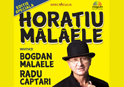 "Horatiu si Bogdan Malaele joaca impreuna in ""Editie speciala"""