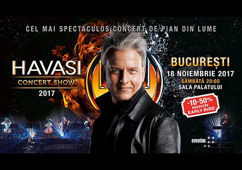 Havasi revine in Romania pe 18 noiembrie