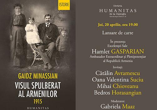 "Humanitas lanseaza volumul ""Visul spulberat al armenilor. 1915"""