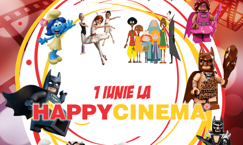 Filme gratuite pentru copii la Happy Cinema
