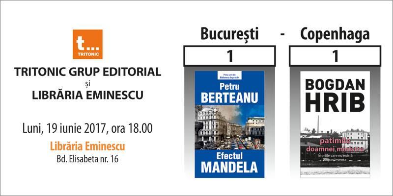 "Eveniment literar: ""Bucuresti-Copenhaga 1-1"""