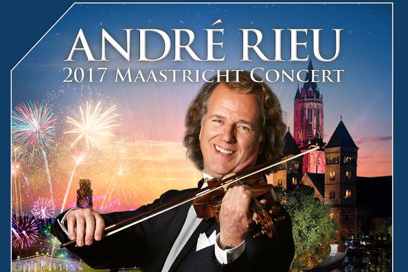 Concertul de vara al lui Andre Rieu este transmis live la Happy Cinema