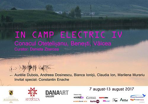 "Conacul Otetelisanu intampina rezidenta ""In camp electric IV"""