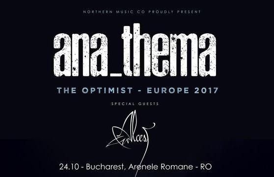 Anathema concerteaza in Romania pe 24 octombrie