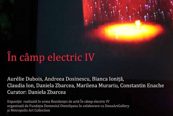 """Vernisajul expozitiei """"In camp electric IV"""" va avea loc pe 26 septembrie"""